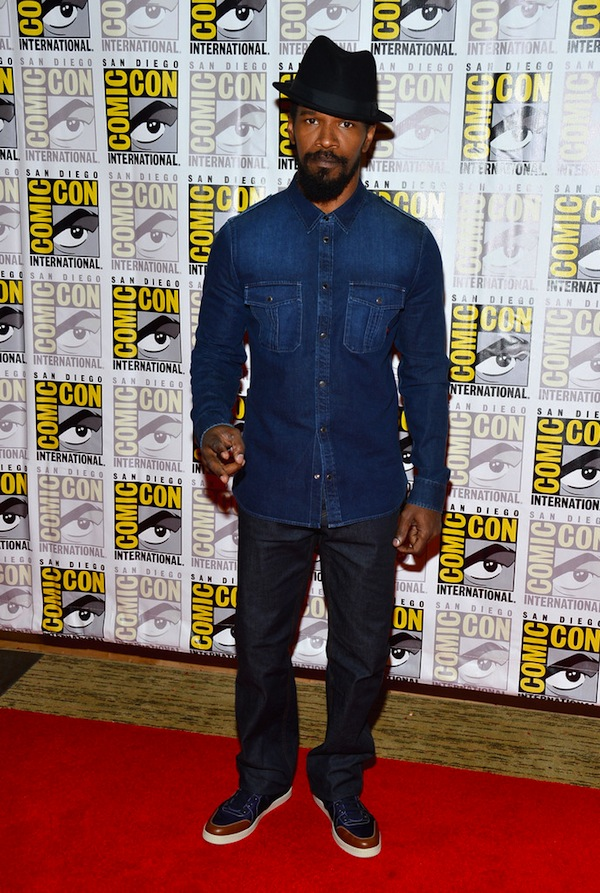 """2bce65ec32d ... Unchained"""" Press at this year 2012 Comic-Con International over the  weekend in San Diego"""