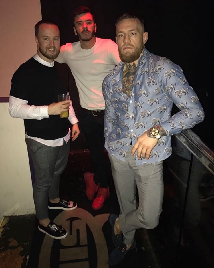 c3f158efa91 Conor McGregor Wears a Louis Vuitton Shirt and Gucci Loafers – Under ...